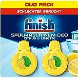 Finish Vaatwasser Deodorant Citrus En Limoen, 2 Stuks