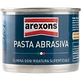 AREXONS PASTA ABRASIVA 150 ml Pasta abrasiva elimina graffi per manutenzione auto, pasta abrasiva lucidante, togli…