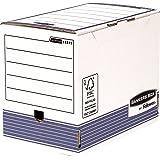 Fellowes Bankers Box System Lot de 10 Boîte d'archives A4+ Dos de 20 cm Bleu