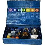 KACHVI Cristales curativos Piedras curativas Curación 7 Piedras Naturales de Chakra caídas/meditación Kit de curación de Cris