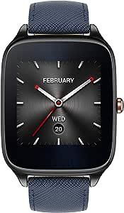 ASUS ZenWatch 2 WI501Q Smartwatch con Cinturino in Pelle, Blu [Italia]