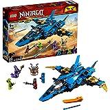 LEGO Ninjago - Caza Supersónico de Jay, set con avión de juguete de construcción para aventuras ninja (70668)