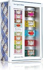 Kusmi Tee Miniaturen 5 x 25g Afternoon-Tees mit Teesieb GechenkSet