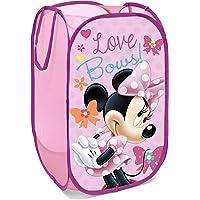 Superdiver Panier Pliable pour Enfants en Tissu avec poignées - Disney Minnie Mouse I Cube Organisateur pour vêtements…