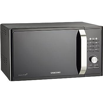 Samsung MG23F302TAK Forno a Microonde, 800 W, Grill 1100 W, 23 l, Nero