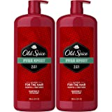 Old Spice, Shampoo and Conditioner 2 in 1, Pure Sport for Men, 32 fl oz, Twin Pack
