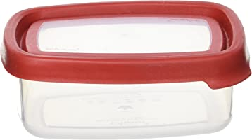 Wham Seal It Square Food Box Red - 440 Ml Clear/Red
