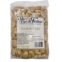 Mandorle Sgusciate e pelate Siciliane intere al naturale 1° scelta Frutta secca di alta qualità snack sano e genuino…