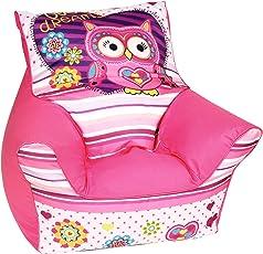 knorr-baby 450313 Eule Sophie, rosa