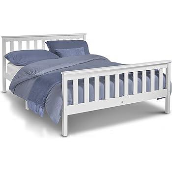 VonHaus Double Pine Bed - 4ft 6\