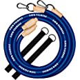 INERTIA WAVE - Battle Rope - Battle Rope with Anchor and Non-Slip Rubber Grips - 3 m and 1.4 kg - Optimise your Workouts by C