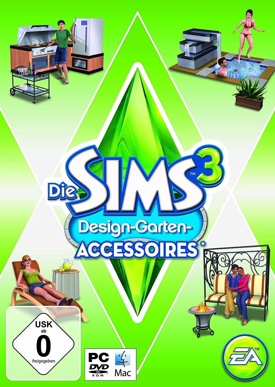 Die Sims 3 Design Garten Accessoires Add PC Mac Amazon