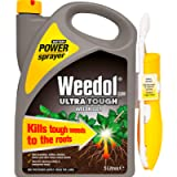 Weedol Ultra Tough Weedkiller, Battery Power Sprayer, 5 Litre, Black