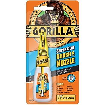 GORILLA GLUE 4044501 12 g 2-in-1 Brush and Nozzle Superglue - Clear