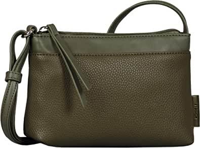 Denim TOM TAILOR bags ARONA Damen Umhängetasche S, black, 20x4x13,5