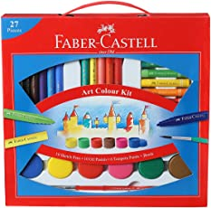 Faber-Castell Art Color Kit with Paint Brush(Multicolor)