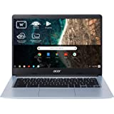 "Acer Chromebook 314 - Portátil 14"" HD (Intel Celeron N4020, 4GB RAM, 32GB eMMc, Intel UHD Graphics, Chrome OS), Color Plata -"