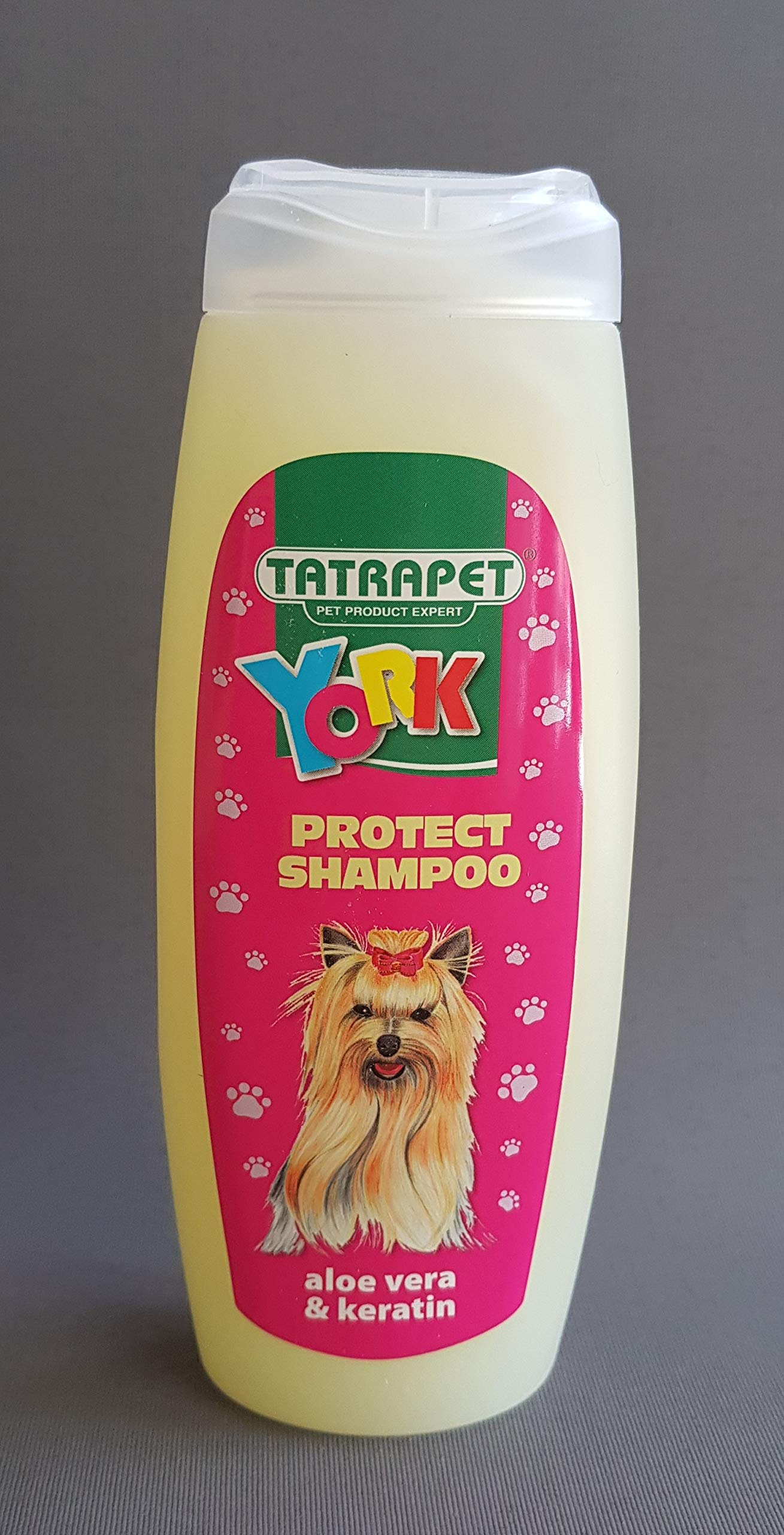 Dog Shampoo for Yorkshire Terrier Aloe Vera and Keratin Puppy Pet 200ml York Shih Tzu Buldog Washing Grooming Chihuahua