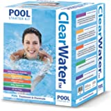 Clearwater Kit chimie pour piscine Blanc 500 g