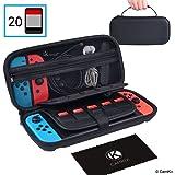 CamKix Opberg en Reis Case compatibel met Nintendo Switch - Beschermt je Nintendo Switch, Joy Cons, Games en Accessoires - Be