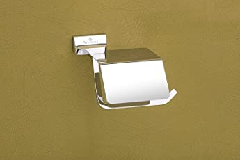 Aryan Toilet Paper Roll Holder for Bathroom (High Grade 304 Stainless Steel) – Opera Series