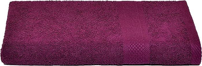 Nova Home - Comfy Premium Cotton 345 GSM Medium Bath Towel (58 X 118cm.)