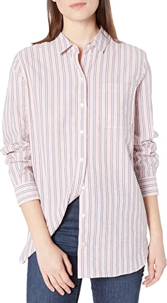 Goodthreads Washed Cotton Short-Sleeve Shirt Donna Marchio