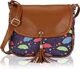 Kleio Stylish Tassel Sling Bag for Girls/Women