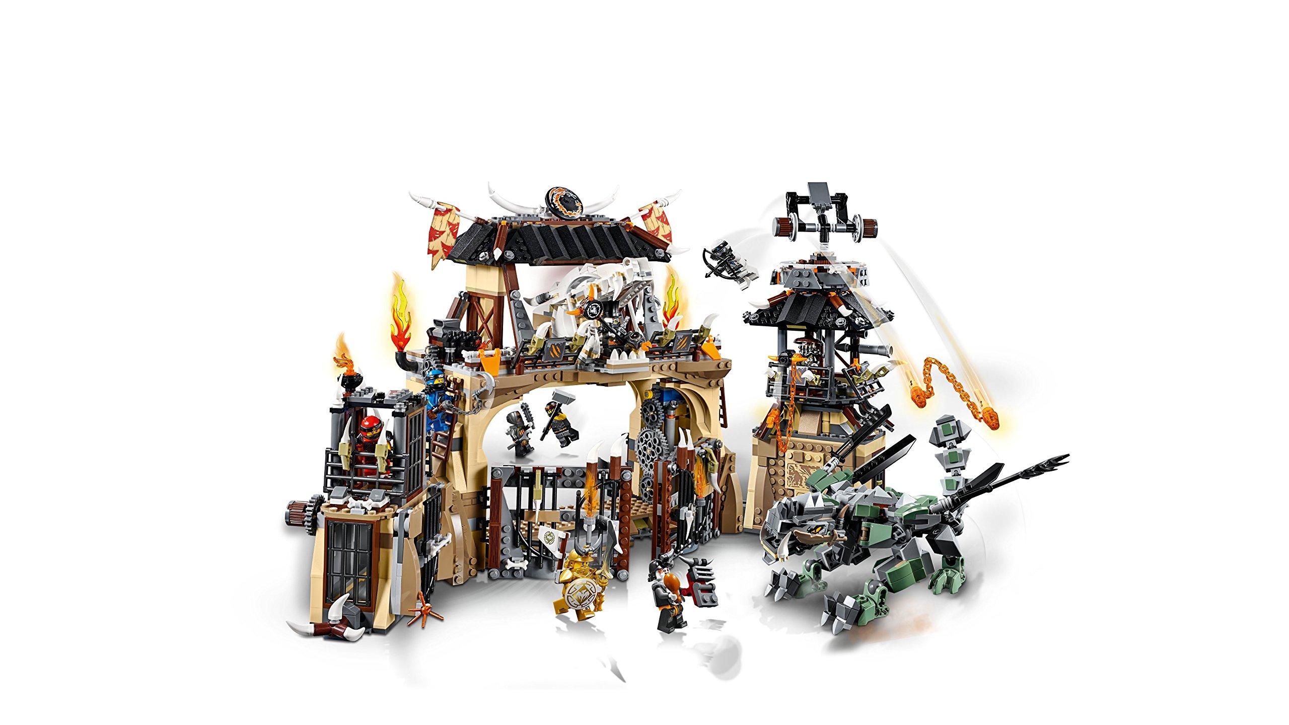 LEGO- Ninjago Includes Master, Jay, Zane, Cole, Kai, Iron Baron, Arkade, Heavy Metal And Chew Toy Minifigures La Fossa… 3 spesavip