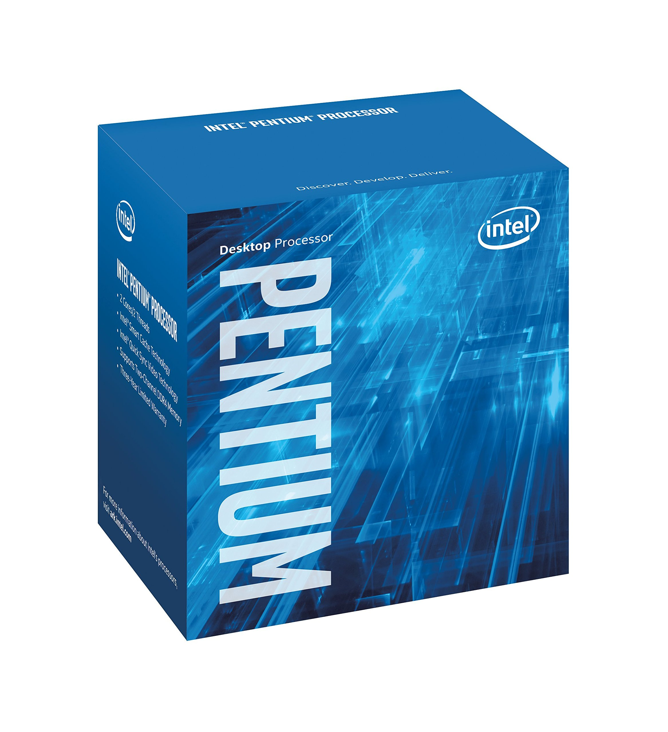 Intel Pentium Kaby Lake G4560 - Microprocessore, (DDR4-2133/2400, DDR3L-1333/1600, 3.5 GHz) colore: