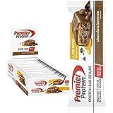 Premier Protein Bar Deluxe Chocolate Brownie 18x50g - Alta Proteína Baja Azúcar + Carbohidratos reducidos