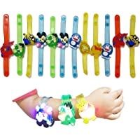 WeKidz Kid's Popular Cartoon Characters Rakhi Bracelets with LED Lights Best Birthday Return Gifts(Set of 5)