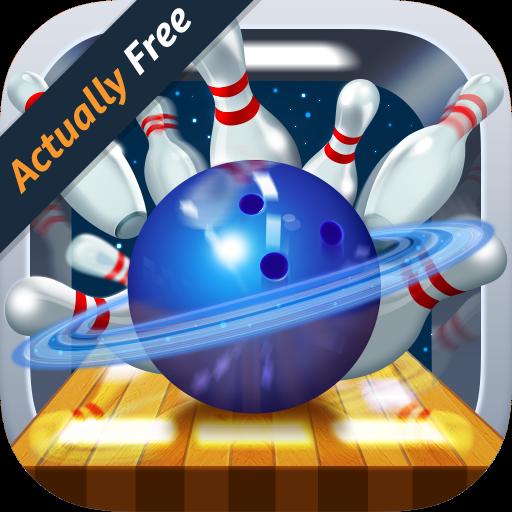 Galaxy Bowling 3D Underground - Shuffleboard-pins