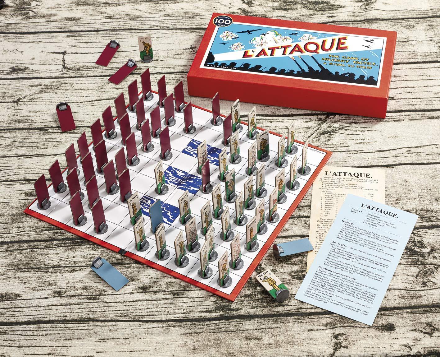 Gibsons-LAttaque-Spiel