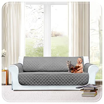 Imperial Rooms Quilted Sofa Protector Settee Cover Sofa Throw