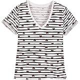Disney Minnie Mouse Icon - Camiseta para Mujer, diseño de Rayas