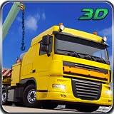 Gütertransport Lkw-Fahrer