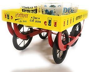 Ek Do Dhai Rangeela Thela Trolley, Multicolour