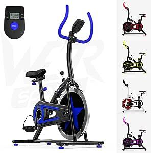 We R Sports Exercice Vélo/Aérobique Intérieur Formation Cycle Aptitude Cardio Faire du Sport Maison Cyclisme Machine - 10 Kg Volant