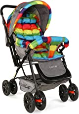 LuvLap Sunshine Baby Stroller Pram - Multicolor 1