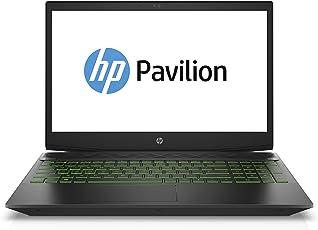 HP Pavilion Gaming 15-cx0206ng 39,62 cm (15,6 Zoll Full HD) Gaming Notebook (Intel Core i5-8300H, 8GB RAM, 1TB HDD, 128GB SSD, Nvidia GeForce GTX 1050Ti 4GB, Windows 10 Home 64) schwarz / grün
