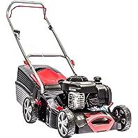 AL-KO Benzin-Rasenmäher Classic 4.25 P-B, 42 cm Schnittbreite, 1.8 kW Motorleistung, für Rasenflächen bis 800 m², Schnitthöhe 7-fach verstellbar, robustes StahlblechgehäuseFüllstandsanzeige
