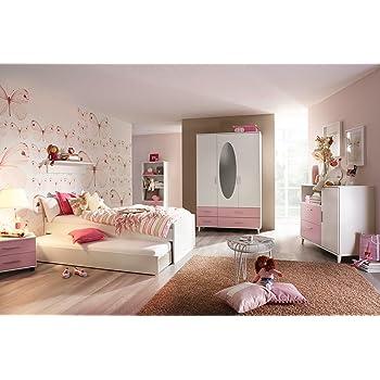 Einzelliege Bett 90x200 Jugendzimmer Mädchenzimmer Kate 9