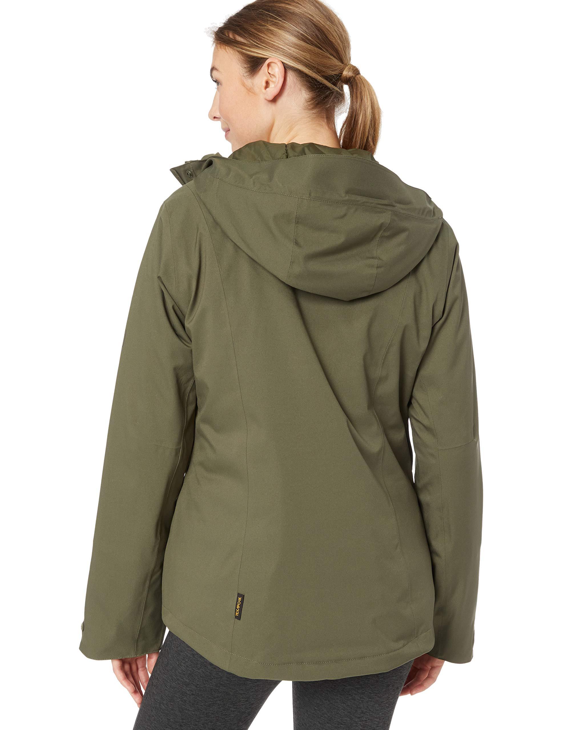 81mcjr rkmL - Jack Wolfskin Women's Troposphere Winterwanderjacke Wasserdicht Winddicht Atmungsaktiv Weather Protection Jacket