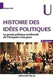 Histoire des idées politiques - 2e éd. - La pensée politique occidentale de l'Antiquité à nos jours: La pensée politique occidentale de l'Antiquité à nos jours
