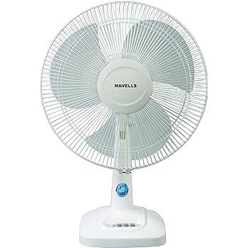 Havells Velocity Neo 400mm 55-Watt Table Fan (Gray)