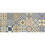 Vilber Toledo DU 01 52X120 Alfombra, Vinilo, Multicolor-01, 52 x 120 x 0.22 cm