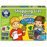 Liste de Courses Fruits et Légumes (Version Anglaise)