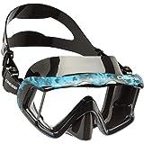 Cressi Liberty, Maschera per Immersioni, Apnea e Snorkeling, Disponibile in Versione Due/Tre Vetri Unisex Adulto