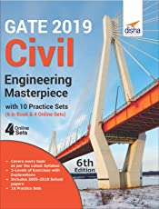 GATE 2019 Civil Engineering Masterpiece with 10 Practice Sets (6 in Book + 4 Online)